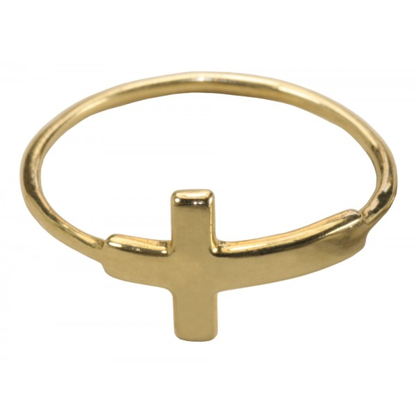 "Anillo ""Cruz Gold"""